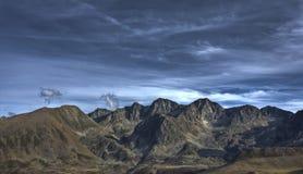 горы Андоры Стоковые Фото