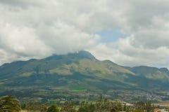 Горы Анд в облаках 3 Стоковые Изображения