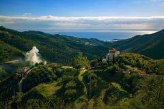 Горы ландшафта в Малаге стоковое изображение