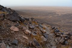 Горы атласа в Morroco Стоковое Изображение