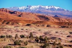 Горы атласа Стоковое фото RF
