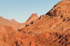 Горы атласа в Марокко Стоковое Фото