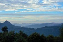 Горы атласа Стоковая Фотография RF