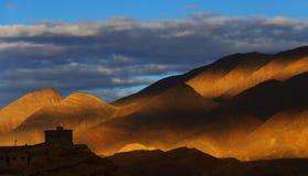 Горы атласа Стоковое Фото
