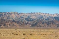 Горы атласа, Chebika, граница Сахары, Туниса Стоковые Фотографии RF