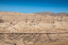 Горы атласа, Chebika, граница Сахары, Туниса Стоковые Изображения