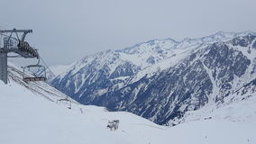 Горы Алма-Аты стоковое фото rf