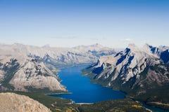 Горы Альберты утесистые Стоковое Изображение RF