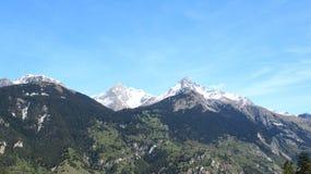 Горы Альпов Стоковые Фото