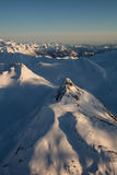 Горы Британской Колумбии стоковое изображение rf