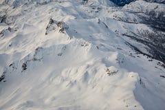 Горы Британской Колумбии Стоковые Изображения