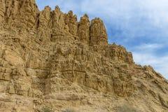 Горы близко устанавливают Nebo и мертвое море в Джордане Стоковое фото RF