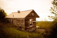 Горы Вермонта кабины горы Hogback Стоковые Изображения RF