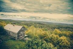 Горы Вермонта кабины горы Hogback Стоковое Изображение