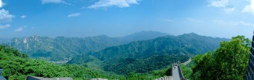 Горы Великой Китайской Стены Стоковые Изображения RF