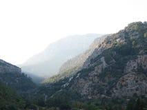 Горы, величественный ландшафт Стоковые Изображения RF