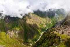 Горы вокруг Machu Picchu Стоковая Фотография