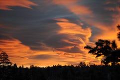 Горы восхода солнца Стоковая Фотография RF
