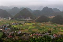Горы Вьетнам строба ` s рая Стоковые Изображения RF