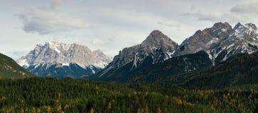Горы в австрийском альп стоковое изображение rf