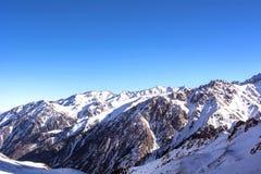 Горы в Алма-Ате Стоковое Изображение