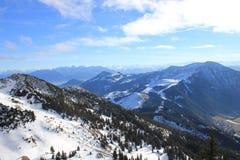 Горы в Баварии стоковое фото