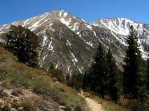 Горы в восточном Сьерре Стоковая Фотография RF