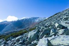 Горы в высоком Tatras стоковые изображения rf