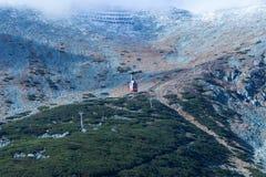 Горы в высоком Tatras стоковое изображение
