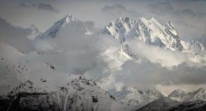 Горы в Гималаях Стоковые Фотографии RF