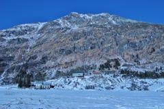 Горы в зиме, Sportgastein, Австрия, Европа Стоковые Фотографии RF