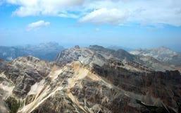 Горы в Италии Стоковое фото RF