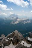 Горы в Италии Стоковая Фотография RF