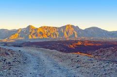 Горы в Канарских островах Стоковое Изображение