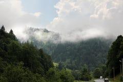 Горы в Карпатах Стоковое фото RF