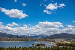 Горы в Колорадо Стоковые Фотографии RF