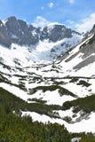 Горы в национальном парке Durmitor, Черногории Стоковое фото RF