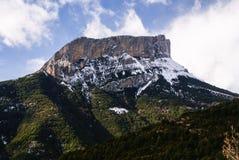 Горы в национальном парке Ordesa, Пиренеи, стоковые фото