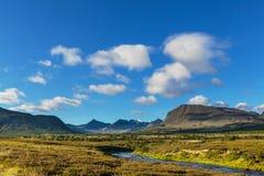 Горы в Норвегии Стоковые Фото