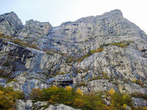 Горы в Норвегии Стоковая Фотография RF