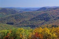 Горы в осени, Deerfield Беркшира, Массачусетс Стоковая Фотография