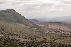 Горы в долине Кении стоковые изображения