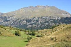 Горы в долине Tena, Пиренеи Panticosa Стоковые Изображения RF