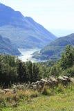 Горы в долине Tena, Пиренеи Panticosa Стоковое Фото