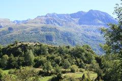 Горы в долине Tena, Пиренеи Panticosa Стоковая Фотография