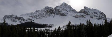 Горы вдоль Hwy 93 Стоковое Фото