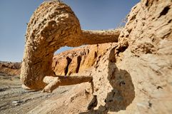 Горы в пустыне стоковое фото
