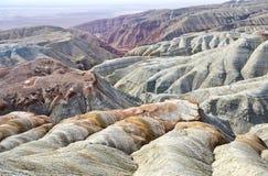 Горы в пустыне стоковая фотография rf