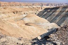 Горы в пустыне стоковые фото