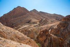 Горы в пустыне Стоковое фото RF